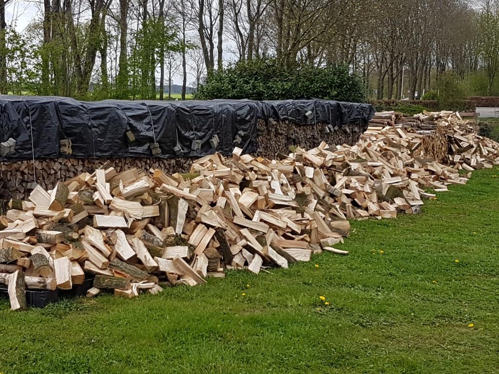 gekloofd hout